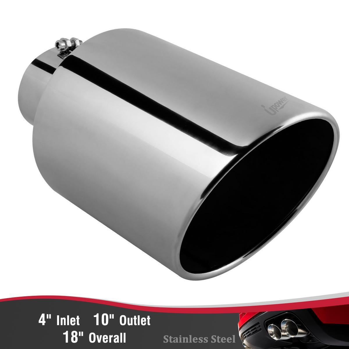 stainless steel diesel exhaust tip 4
