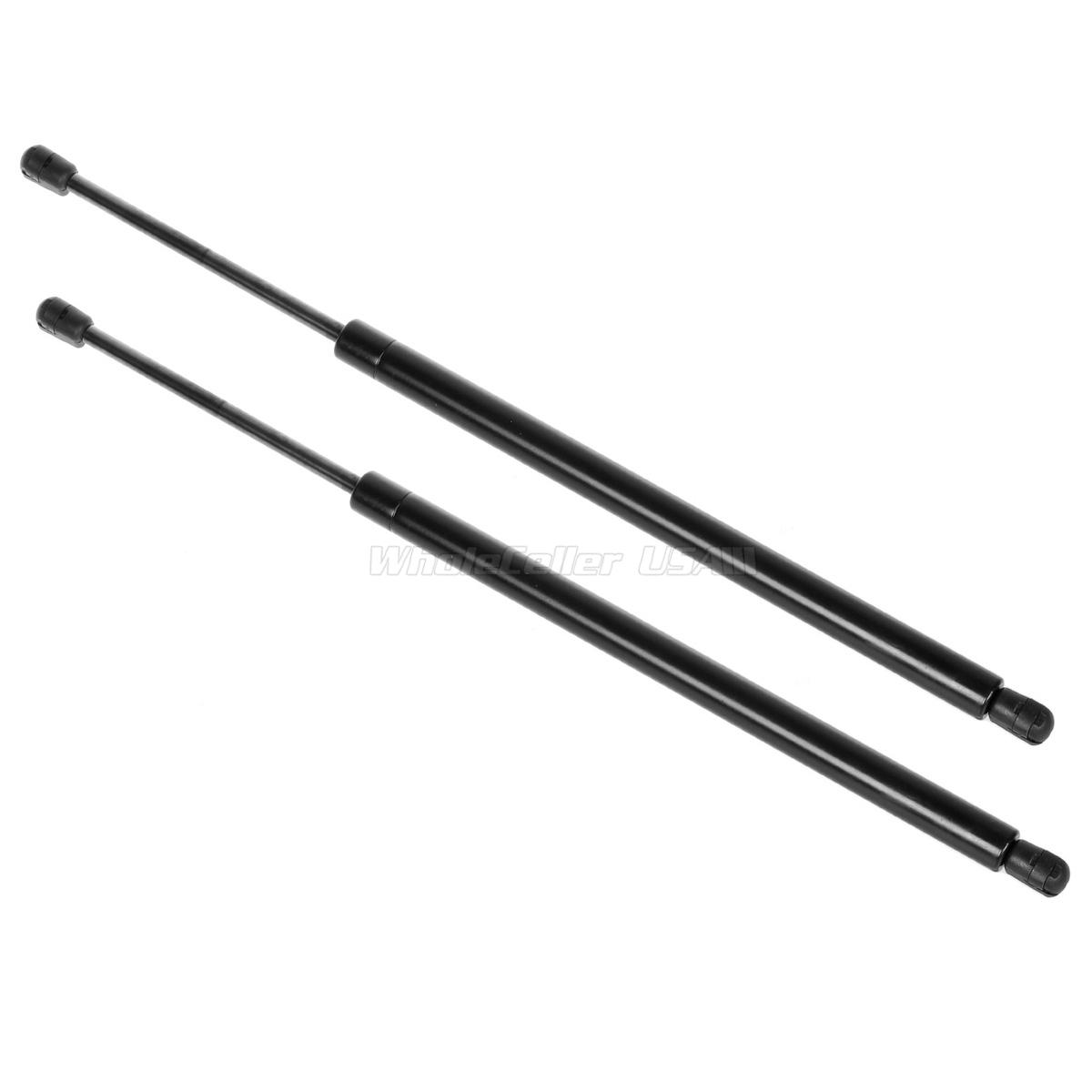 Qty 2 Front Hood Gas Charged Lift Support Struts Arm For