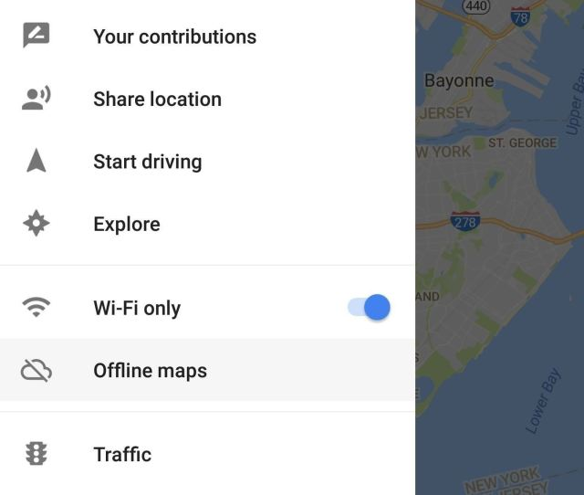Please Remember That Some Important Traffic Data Like Construction Zones And Accidents Will Not Be Available When Using Offline Maps