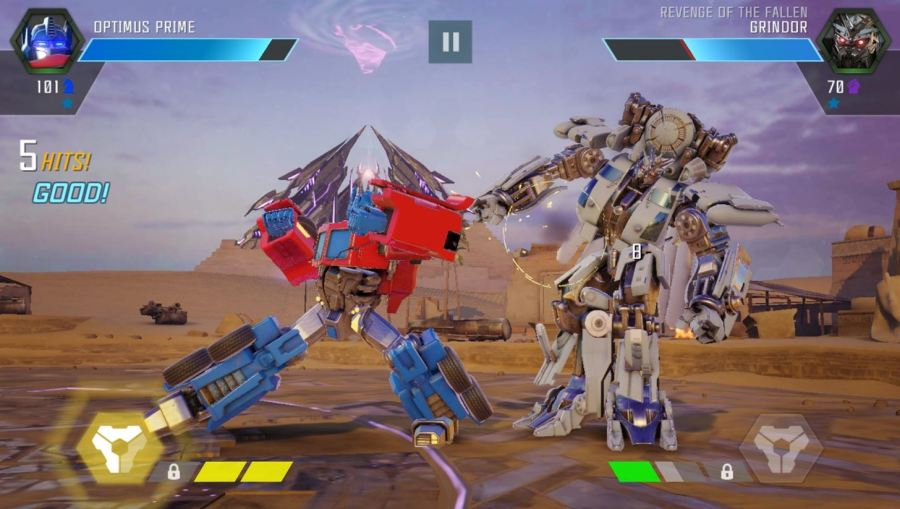 Gaming  The 9 Best Free Action Games for iPhone   Android     Die hard fans of the franchise will love game s unlocking system  which  allows you to collect  control  and level up unique robots from the entire