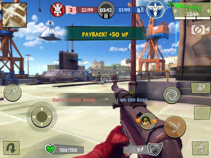 Top 10 Free First Person Shooter Games for Your iPad  iPhone  or     First person shooters are immensely fun  but remember to check out our top  10 free zombie games for all you George A  Romero or Walking Dead fans