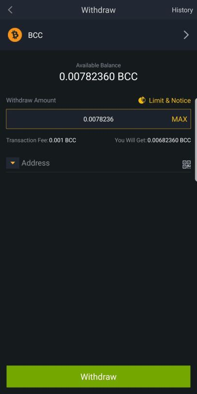 Binance 101: How to Deposit & Withdraw Bitcoins & Other ...