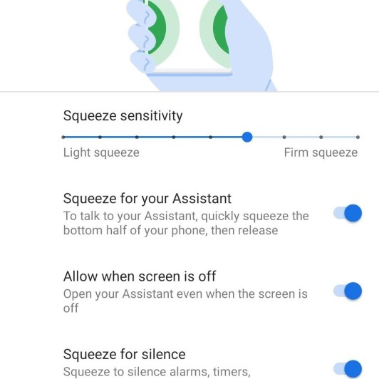 How to Customize the Active Edge Squeeze Feature on Your Pixel