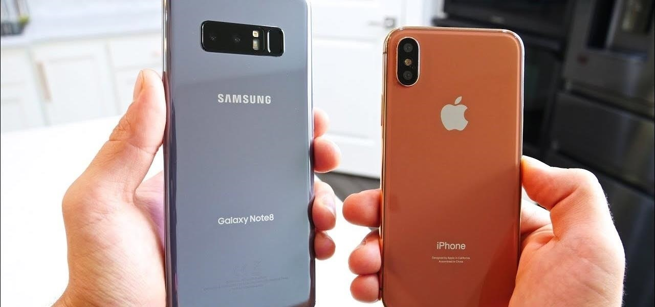 Apple vs  Samsung  How Does the iPhone X Stack Up Against the Galaxy     Apple vs  Samsung  How Does the iPhone X Stack Up Against the Galaxy Note 8