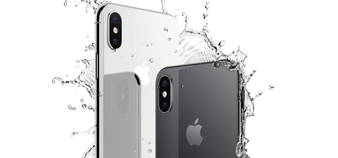Image result for iphone x water resistant