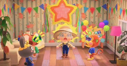Player Birthday Party What Happens On Your Birthday Acnh Animal Crossing New Horizons Switch Game8