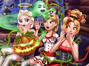 لعبة عيد هالوين