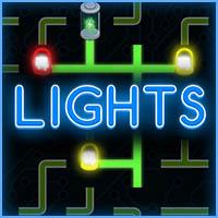 لعبة اضاءة المصابيح