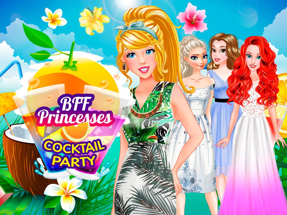 لعبة حفلة كوكتيل الأميرات