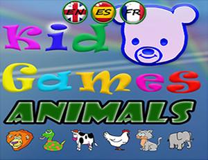 العاب اطفال تتعلم مع حيوانات مضحكة