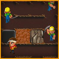 لعبة حفر الارض