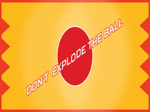 لعبة انفجار الكرة