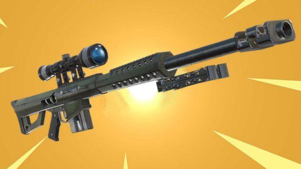 Fortnite Heavy Sniper Ist Die Neue Waffe Bermchtig