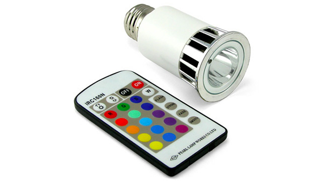 Remote Controlled Light Bulb Socket