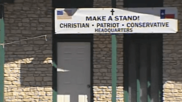 Quaint Texas Church Tells People to Vote for the 'Mormon, Not the Muslim'—You Should Stop By and Pray Sometime!