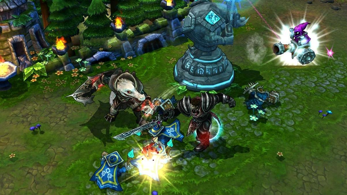 League of Legends is the most played game in the world - a MOBA title.