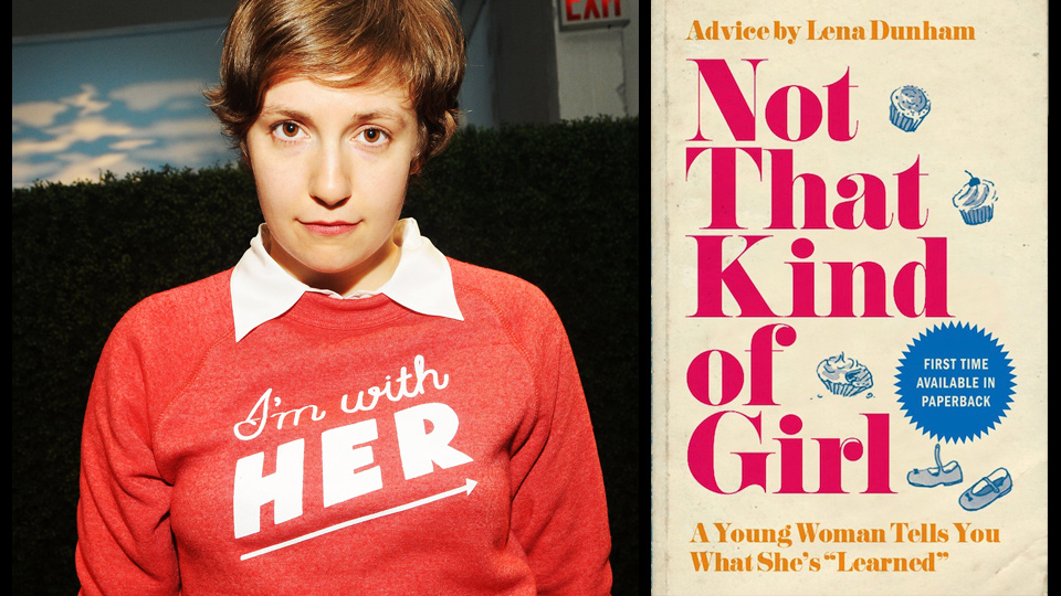 Lena Dunham, the creator of HBO's Girls sold her book to Random House
