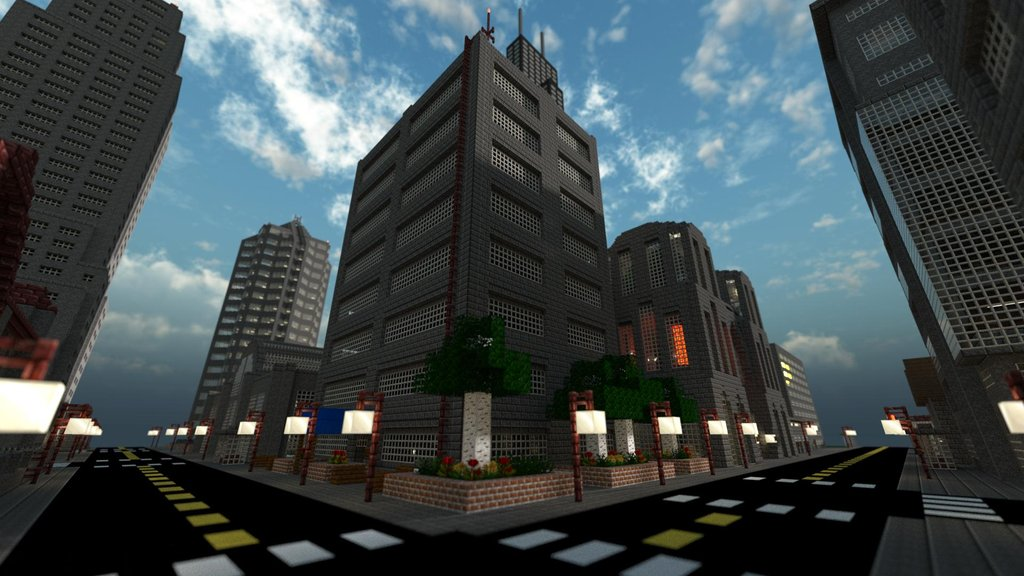 Forget Fantasy Lands Normal Cities Look Awesome In Minecraft As Well