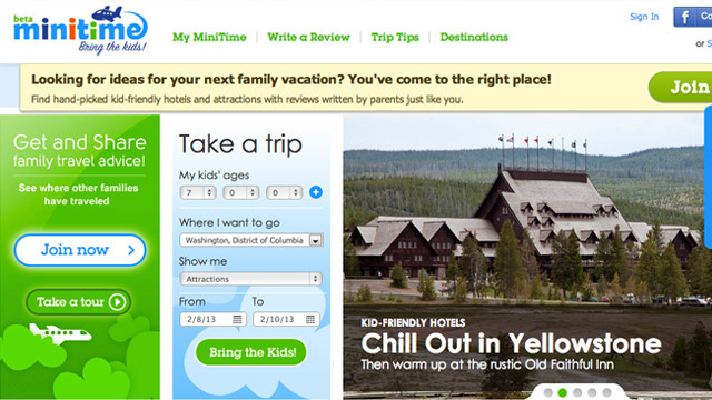 Click here to read MiniTime Helps Plan Family-Friendly Vacations