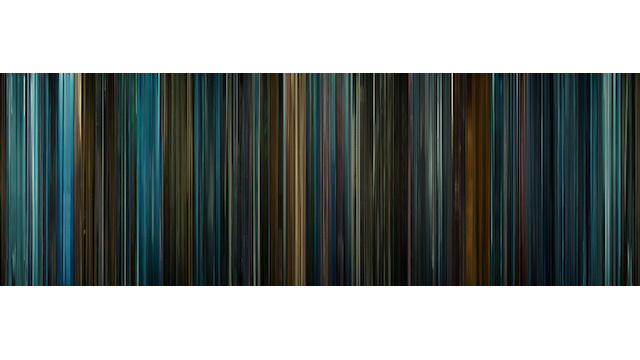 Click here to read Classic Sci-Fi Films Represented as Multicolored Barcodes