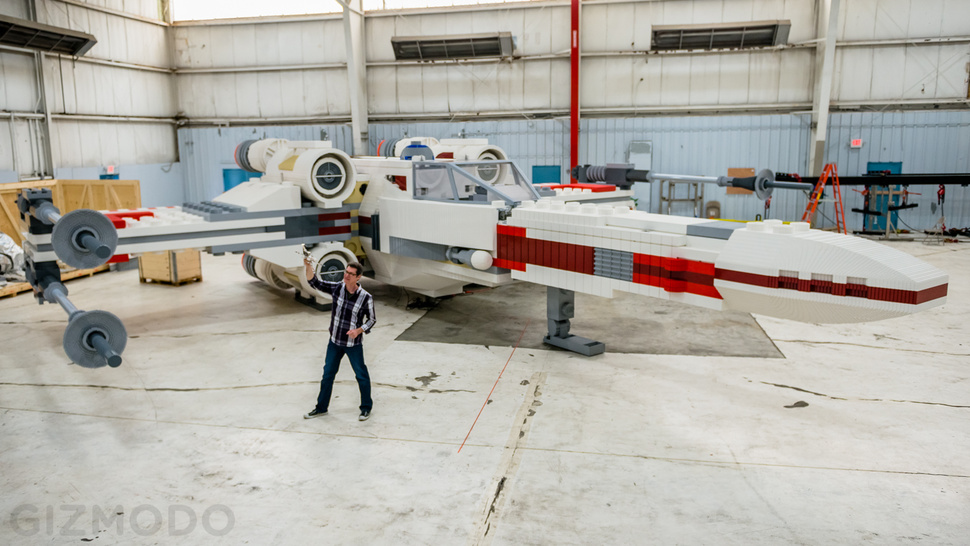 Full. Size. Lego. X-Wing. Fighter.