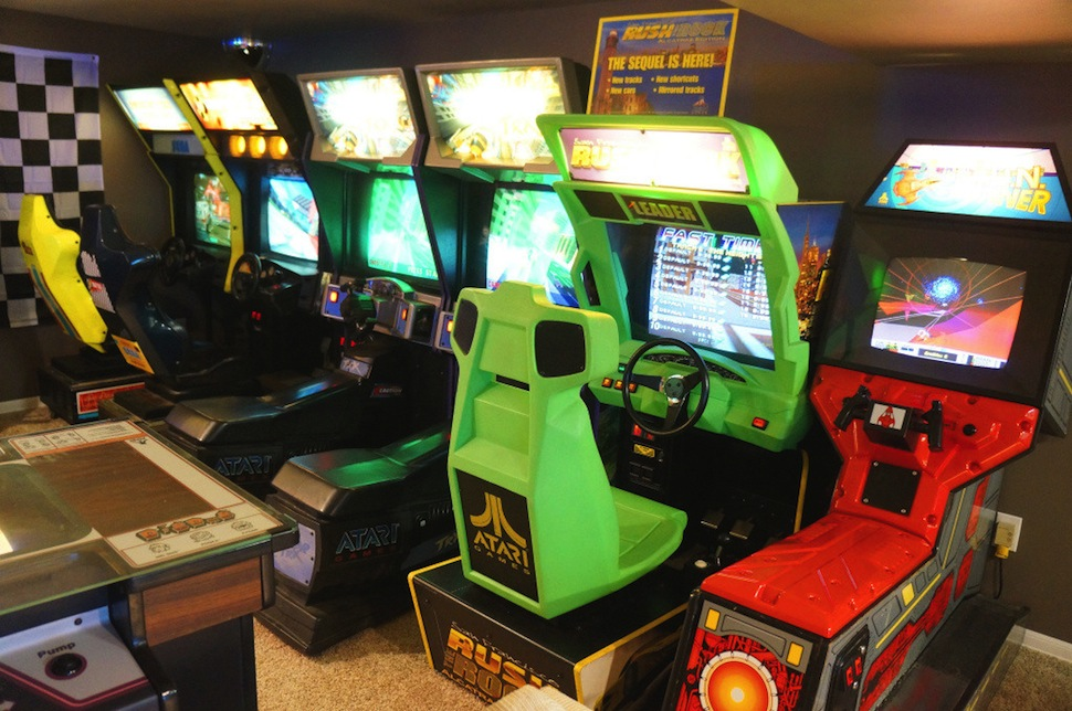 All Star Dad Builds Incredible Arcade With His Son