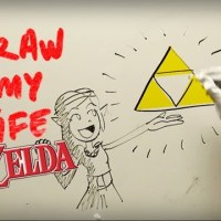 "Watch Princess Zelda ""Draw Her Life""!"