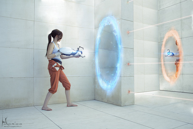 At The End Of The Experiment, This Portal Cosplay Will Be Baked