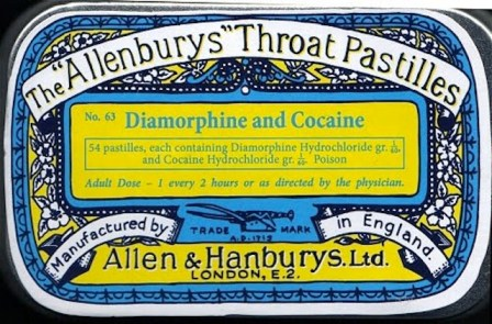 Gorgeous Vintage Advertisements for Heroin, Cannabis and Cocaine