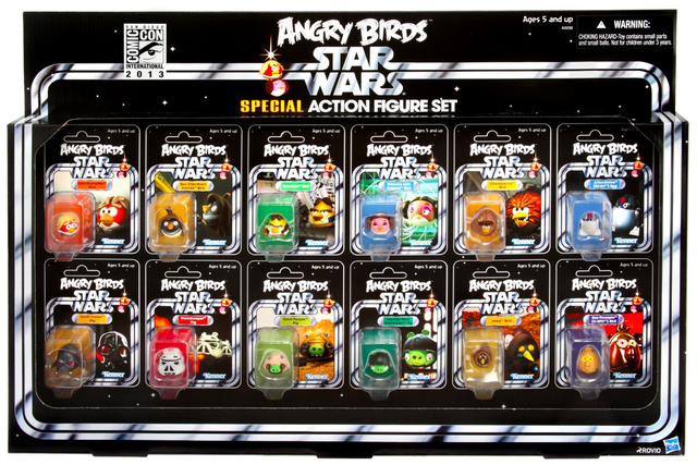 Angry Birds goes classic Star Wars in this SDCC exclusive reveal