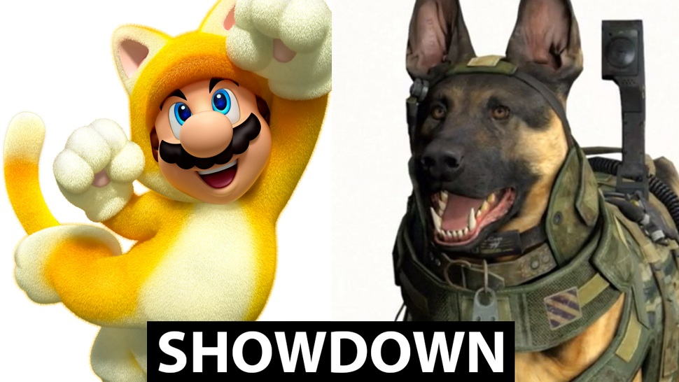 Its Time To Decide Call Of Duty Dog Or Super Mario Cat