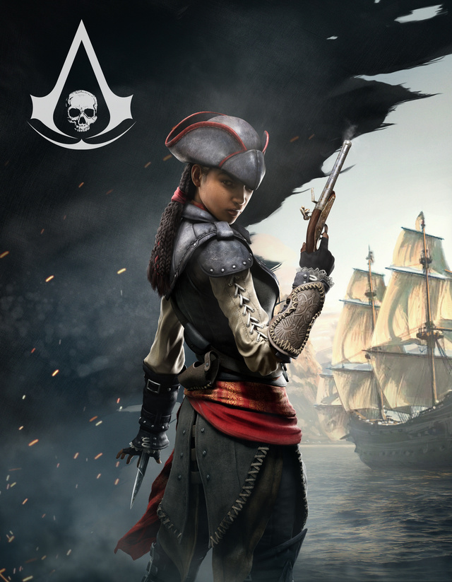 Assassin's Creed's Only Heroine is Playable in Assassin's Creed IV