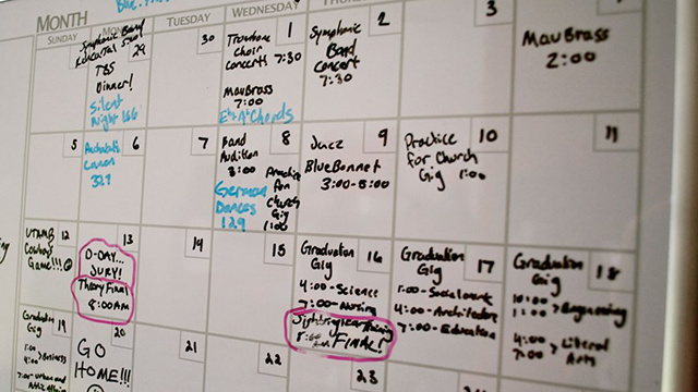 Add Empty Events to Your Schedule to Deal with Unexpected Issues
