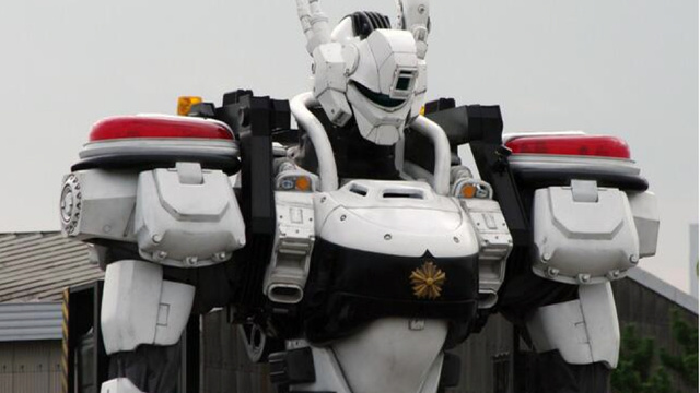 Japanese Mecha Cop Hints At A Glorious Movie Future Kotaku Australia