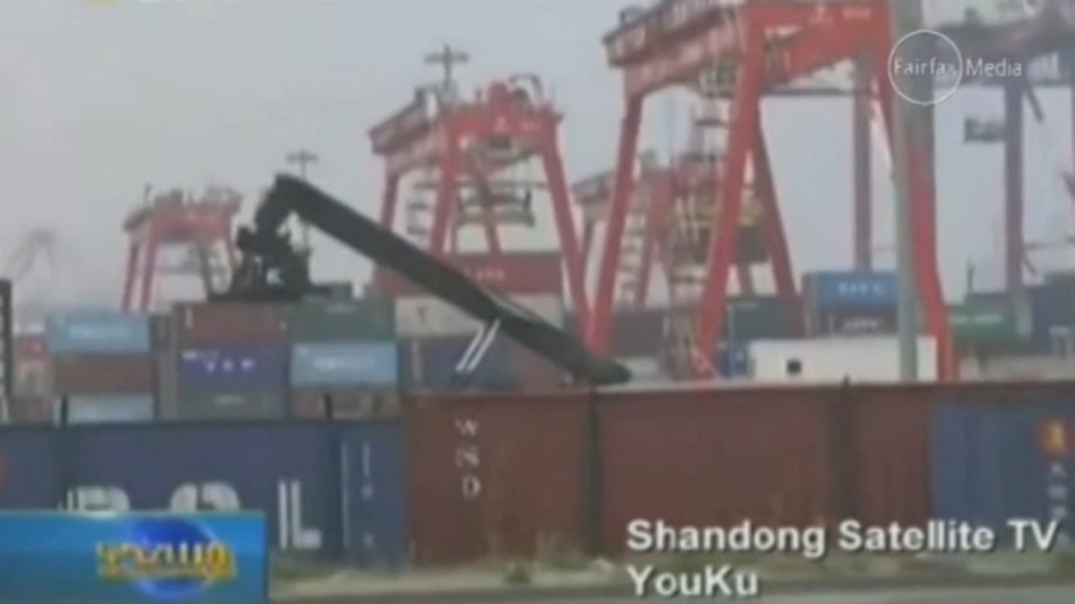 Drunk Man Wakes Up Inside Shipping Container Bound for Los Angeles