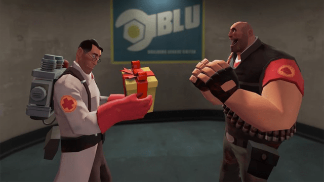 Team Fortress 2 Characters Wish One Lucky Guy A Very Happy Birthday