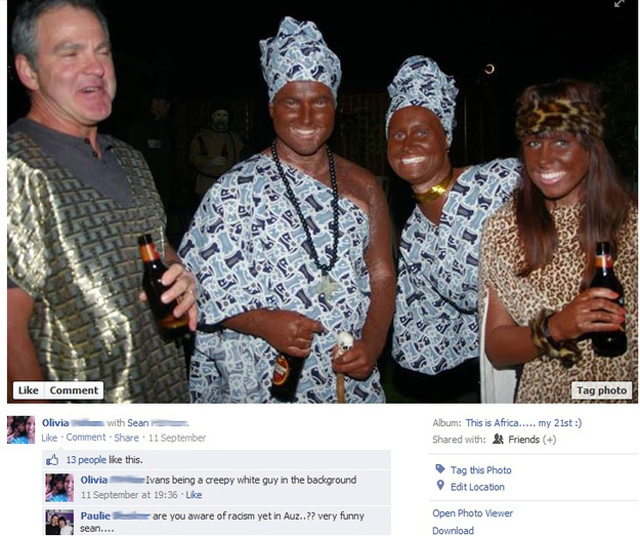 Racist 21st Birthday Party Gleefully Documented on Facebook