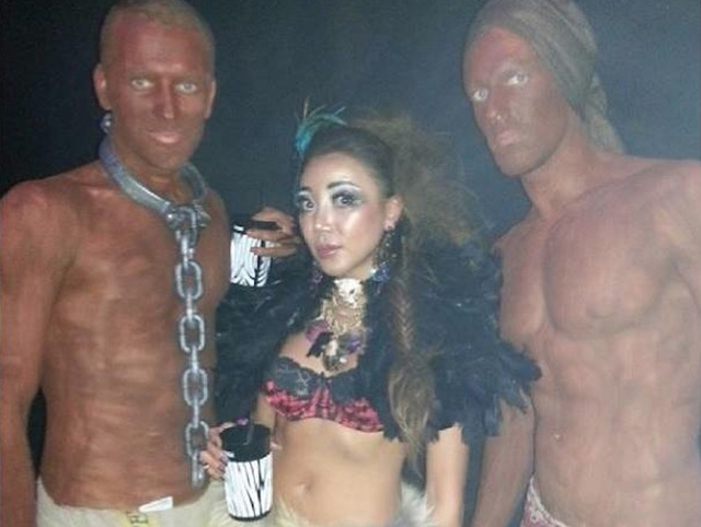 things took a freaky and offensive turn at Milan's Halloweek - so next year they're gonna ask Tila Tequila to host - Tila will make trouble but only the kind you expect