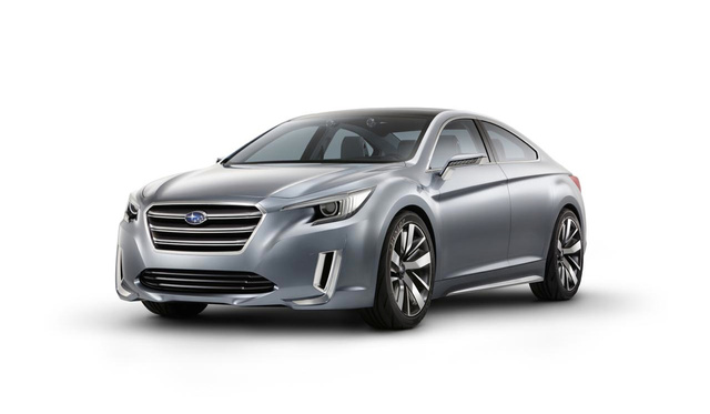 The Subaru Legacy Concept Is The Angriest Midsize Sedan You Can Imagine