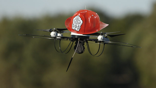 Dubai's Turning Drones into Firefighters