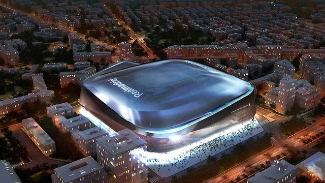 Real Madrid's new stadium looks like an alien mothership