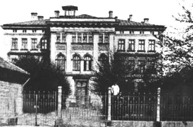 Школьное здание по улице Лачплеша, 141, где находился «юденрат» Рижского «большого гетто»
