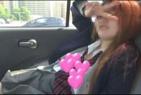 【個撮】赤毛の訛ってるヤリすぎたまごちゃん!車の中でねばって~生ハメ映像(1)