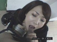【個人撮影】セレブ人妻の上品でネバっこいフェラ【口内発射】