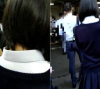 梟の痴漢報告020(郊外の路線で制服女子のパンツの中に・・・)
