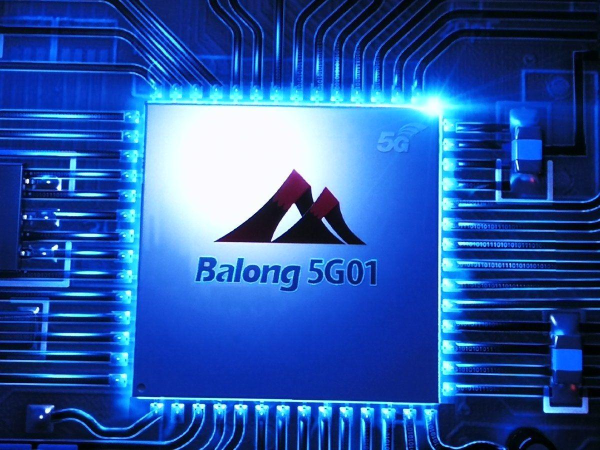 MWC 2018 Huawei Balong 5G01 Le Premier Modem 5G Du Groupe