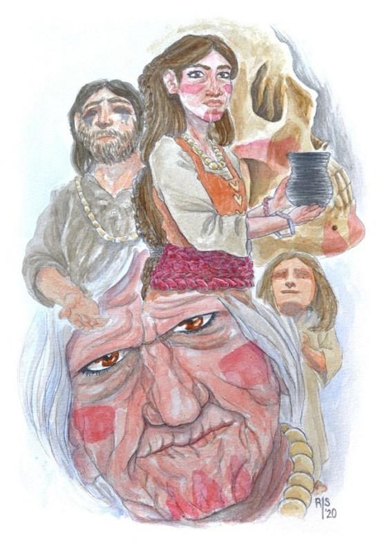 Ilustración realizada por Raquel F. Sáez