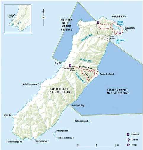 Image result for kapiti island walks