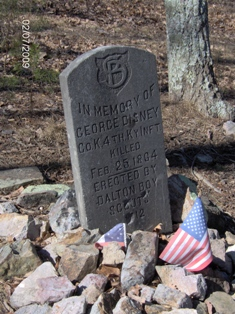 The George Disney gravesite