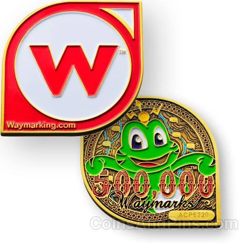 Waymarking-Geocoin